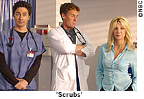 Heather Locklear as Julie Keaton on Scrubs Season 2