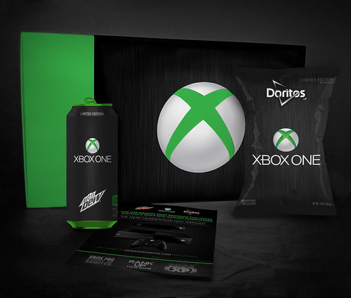 Mt. Dew Doritos Xbox One