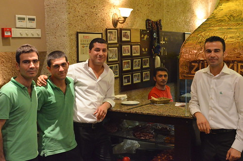 Friendly guys at the Zubeyir kebab