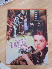 "Wizard of Oz Tin ""Poster"""