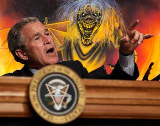 satanic bush?