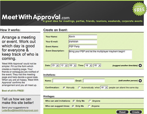 meet with approval: the free (& nicer) meetup