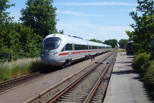 Hamburgskspressen på Gadstrup station