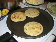 Making more Pupusas!