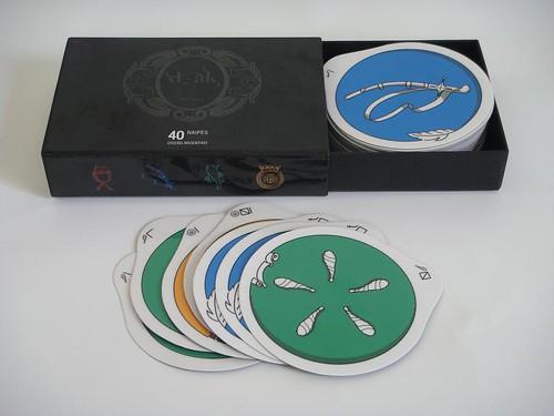 Naipes diseñados a propósito del Bicentenario de Argentina - alumnos de Diseño III Cátedra Blanco FADU/UBA