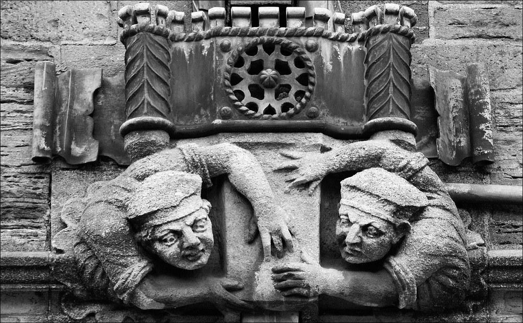 Brasenose gargoyles