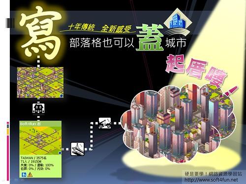 [好玩遊戲] 網頁版模擬城市,寫部落格也可以蓋城市哦 - myMinicity 2850127003_e7e8d88f87