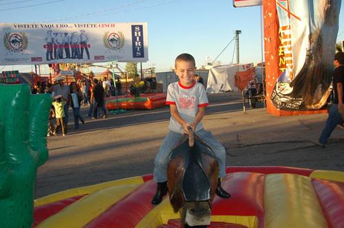 Chihuahua Feria - 05 - Ohad on Mech Bull
