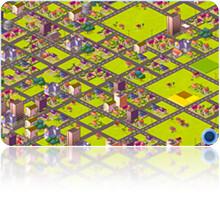 [好玩遊戲] 網頁版模擬城市,寫部落格也可以蓋城市哦 - myMinicity 2850126259_9fa6e83e9a