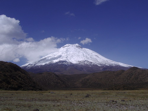 Cotopaxi, south face