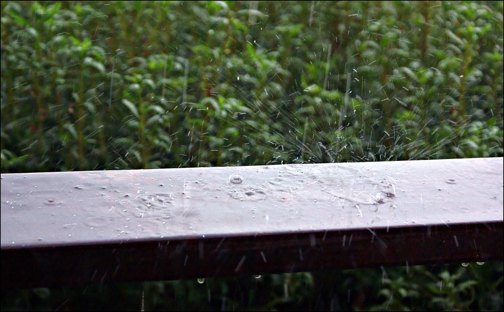 Hard rain at Phaistos