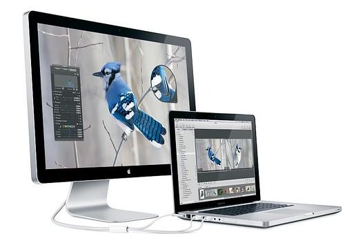 Apple - LED Cinema Display - MacBook Pro