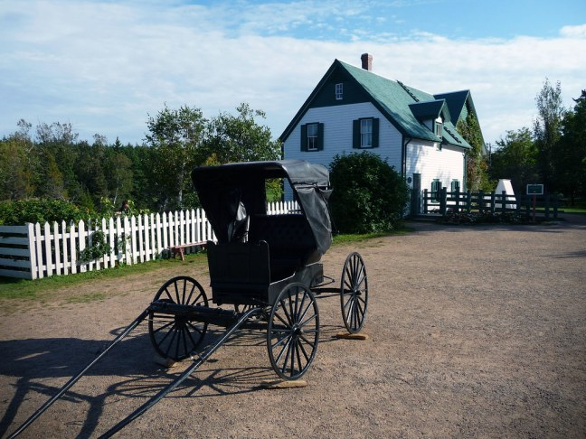 """Green Gables (inspiration for L.M. Montgomery's, """"Anne of Green Gables"""")"""