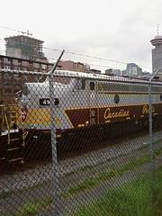 CP Train in Gastown