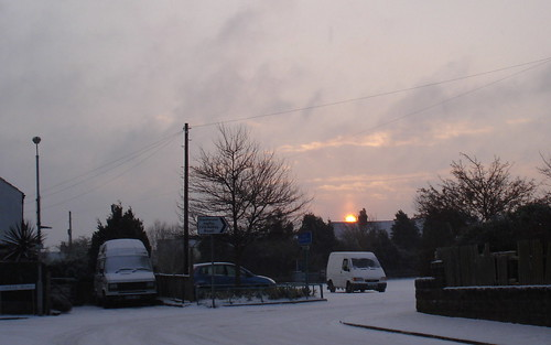 Snowy Morning in Parkstone