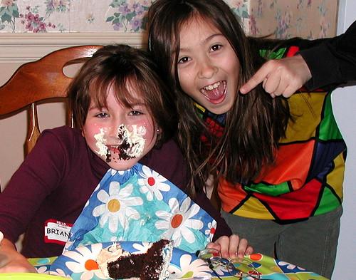 cake diving 1