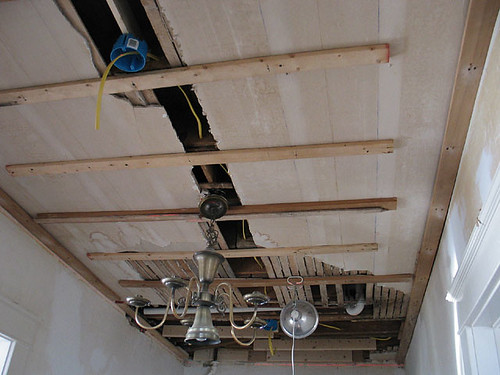 Wiring, strips for drywall