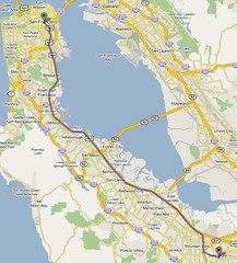 San Francisco to Sunnyvale