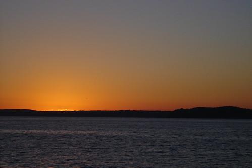 Sunset over Elliott Bay