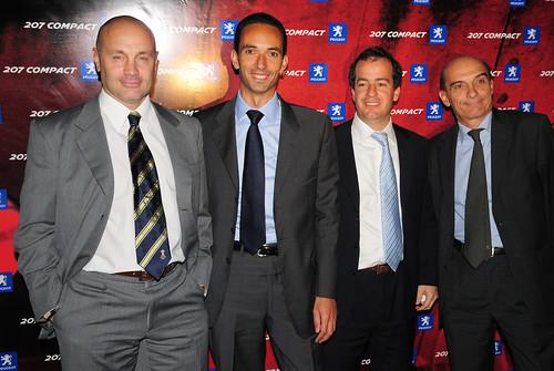 Adrián Maranesi, Stephane Levi, Federico Green y Bruno Grundeler