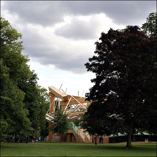 Gehry Serpentine Pavilion 2008