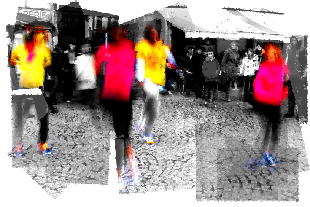 Street troupe - panography-ish crystallised