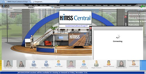 Himss central @ Exhibit hall