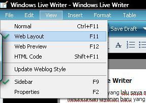 Windows Live Writer
