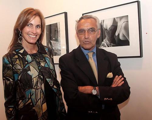 BsAsPhoto - Rosendo Fraga junto a la artista Antonia Robirosa