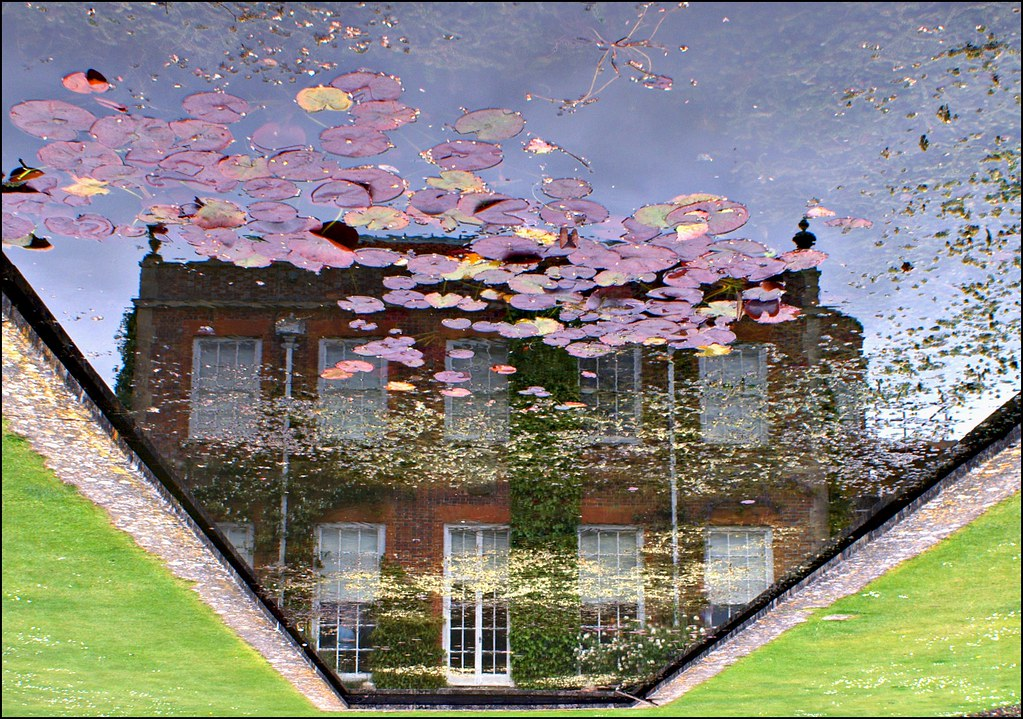 Hinton Ampner under water