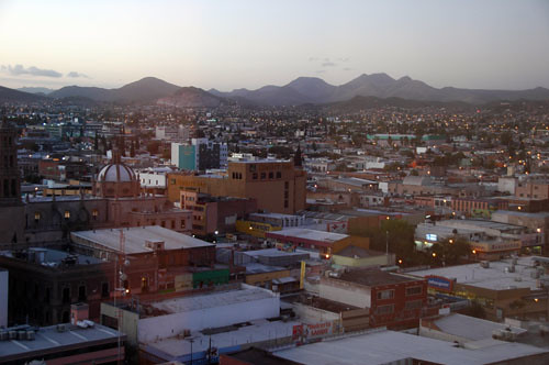 Chichuahua - 01 - Sunrise over Chihuahua
