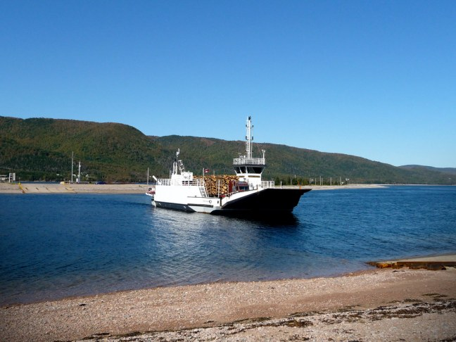 What has to be world's shortest ferry ride in Englishtown (about 45 seconds)