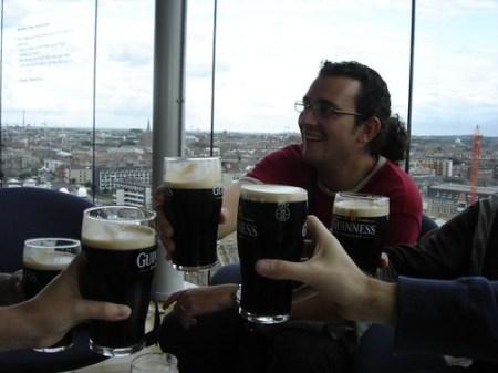 Guinness top pub