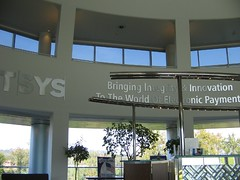 Inside TSYS reception area