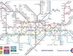 Guardian London Underground Musical Map