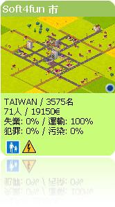 [好玩遊戲] 網頁版模擬城市,寫部落格也可以蓋城市哦 - myMinicity 2850957964_cee72b06b5