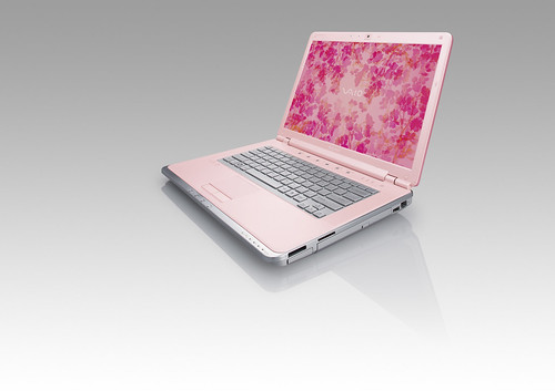 VAIO CR Pink Front