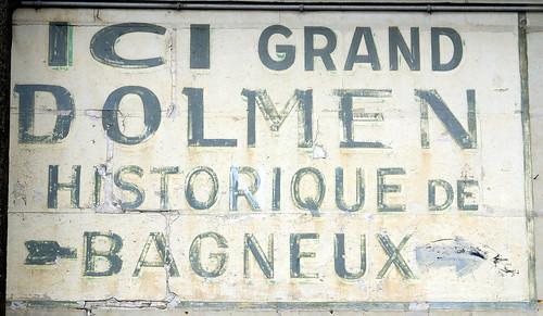 Grand dolmen historique de Bagneux