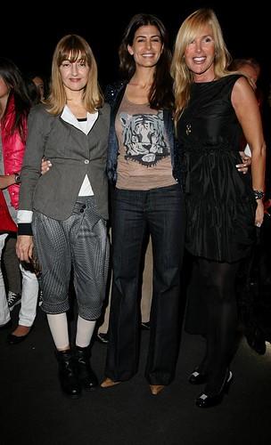 Carola Reyna, Juliana Awada y Alice Fernandez