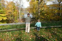 Ella and Peter at the Lake