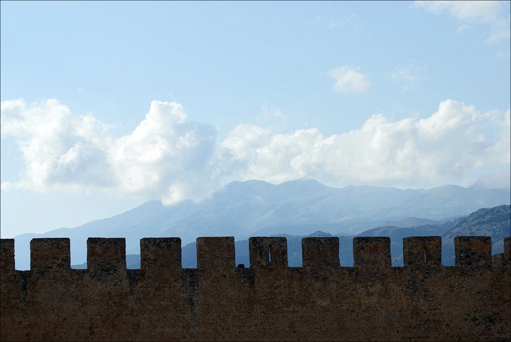 Castellated skyline