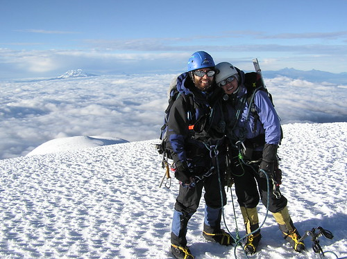 Cayambe summit