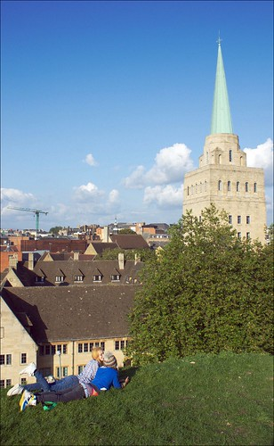 Nuffield College | Oxford skyline