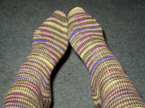 ML 11 Magic Loop Socks completed