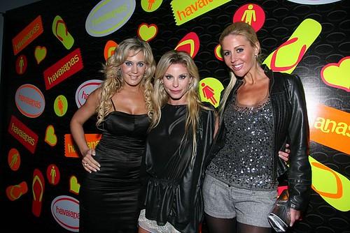 Rocío Marengo, Jimena Cyrulnik y Barbie Simmons