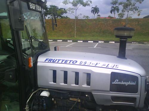 MARDI Lamborghini Tractor 1