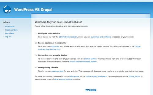 Drupal Success Page