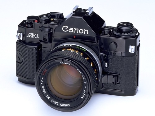 Canon a1 dates back to 1978