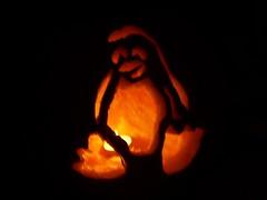 Linux Halloween Dark
