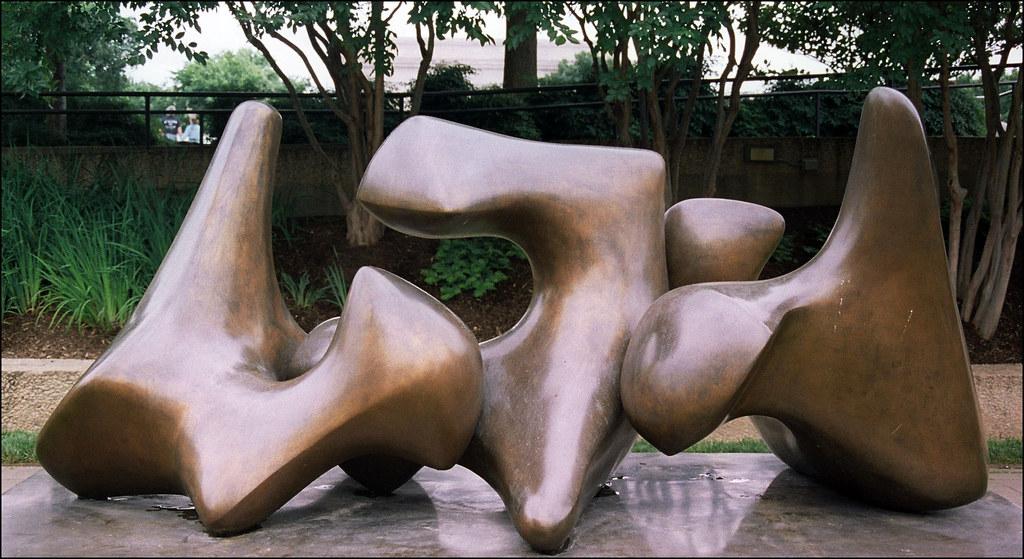 Henry Moore   Working Model for Three Way Piece No. 3: Vertebrae